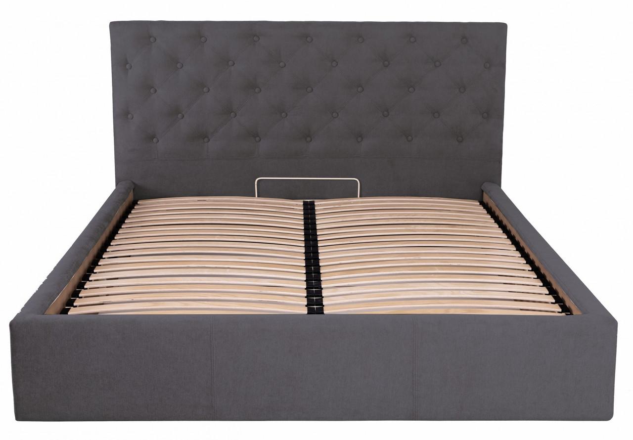 Кровать Coventry Standart 120 х 200 см Мисти Dark Grey Темно-серая