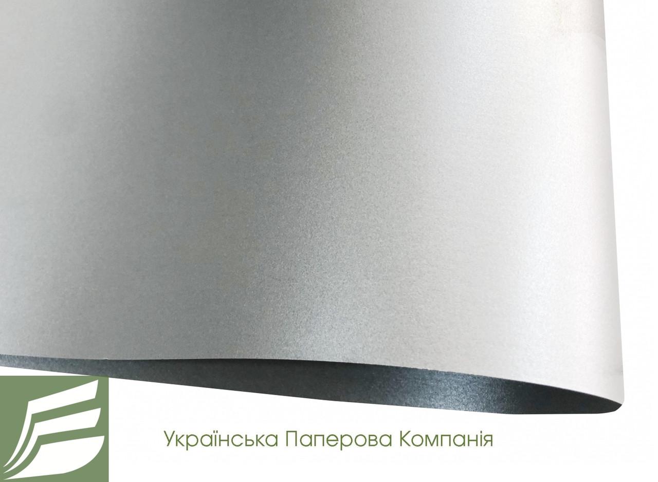 Дизайнерский картон SILVER, перламутровый серебряный, 285 гр/м2