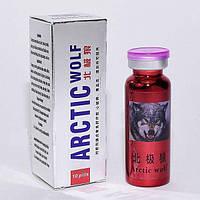 Arctic Wolf препарат для потенції 10 табл натуральний збудник (сумісний з алкоголем, БАД), фото 1