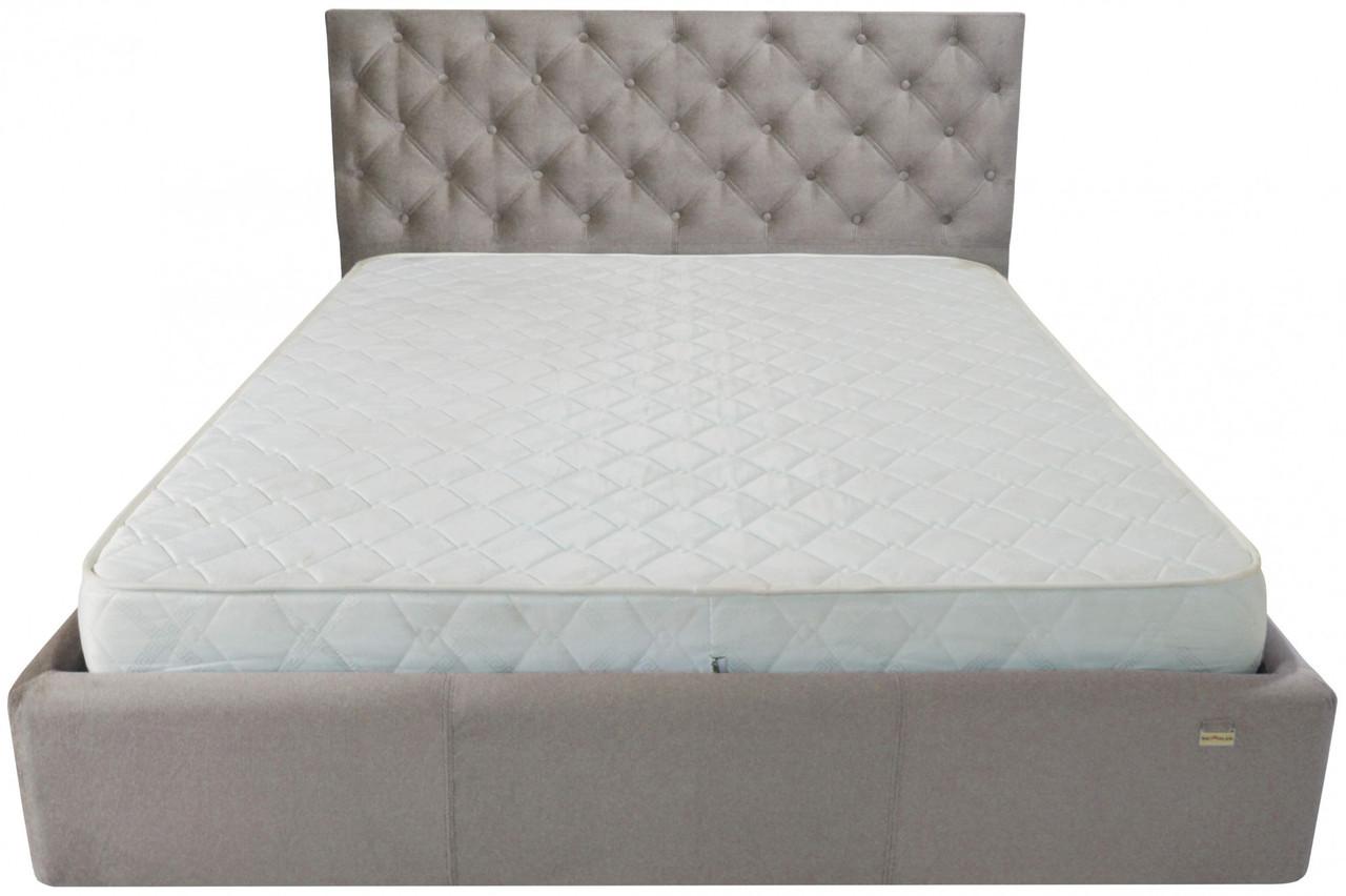 Кровать Richman Ковентри 140 х 200 см Missoni 008 Серая
