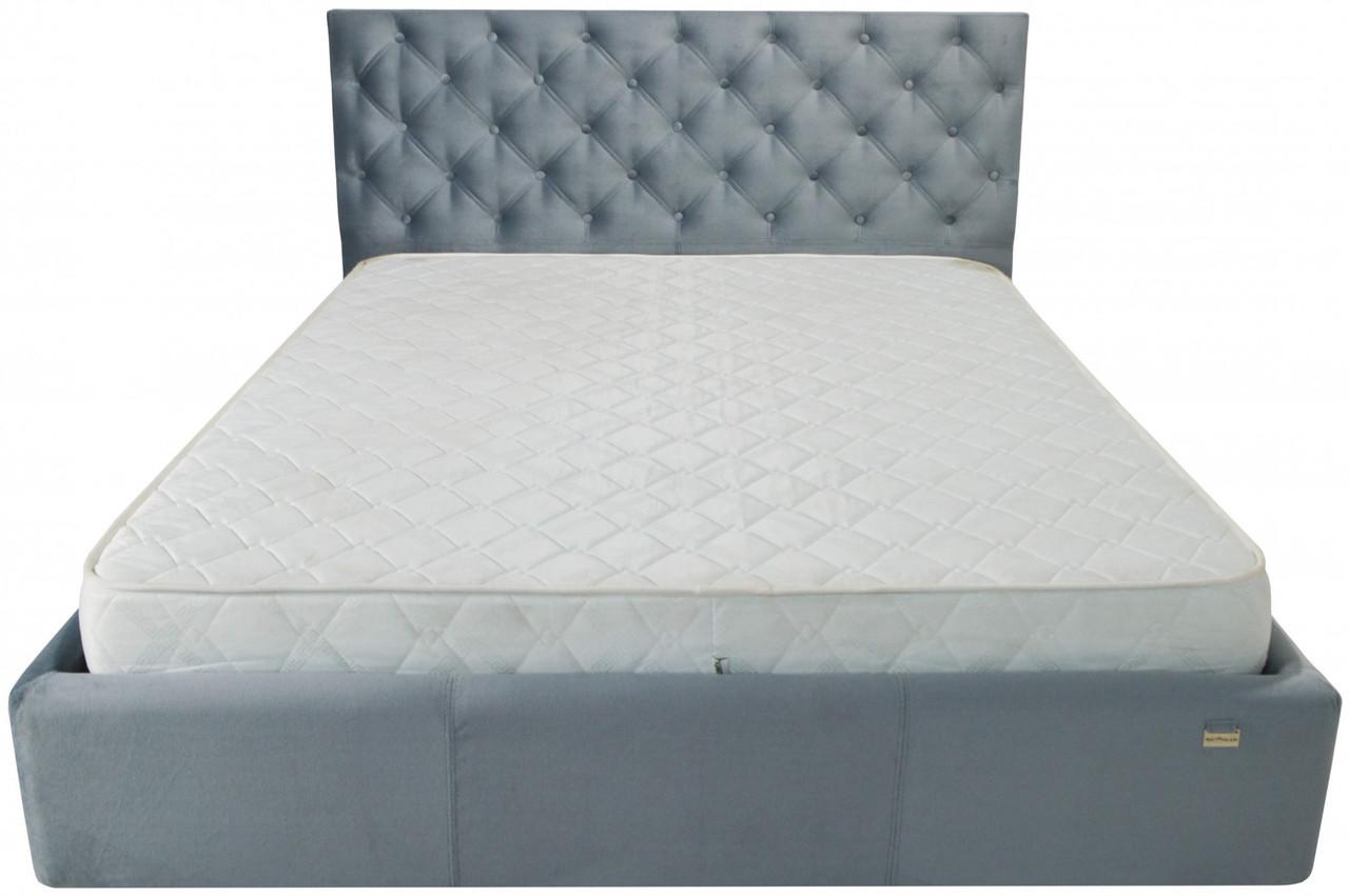 Кровать Richman Ковентри 140 х 200 см Missoni 030 Синяя