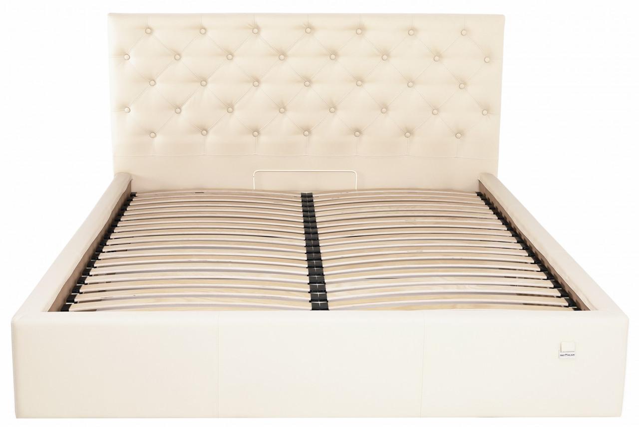 Ліжко Richman Ковентрі 140 х 200 см Флай 2207 Бежева