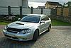 Дефлектор капота (Люкс!) мухобойка Subaru Legacy 2004-2010, SIM, SSULEG0412, фото 3