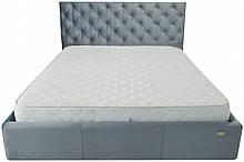 Кровать Двуспальная Coventry Standart 160 х 190 см Missoni 030 Синяя