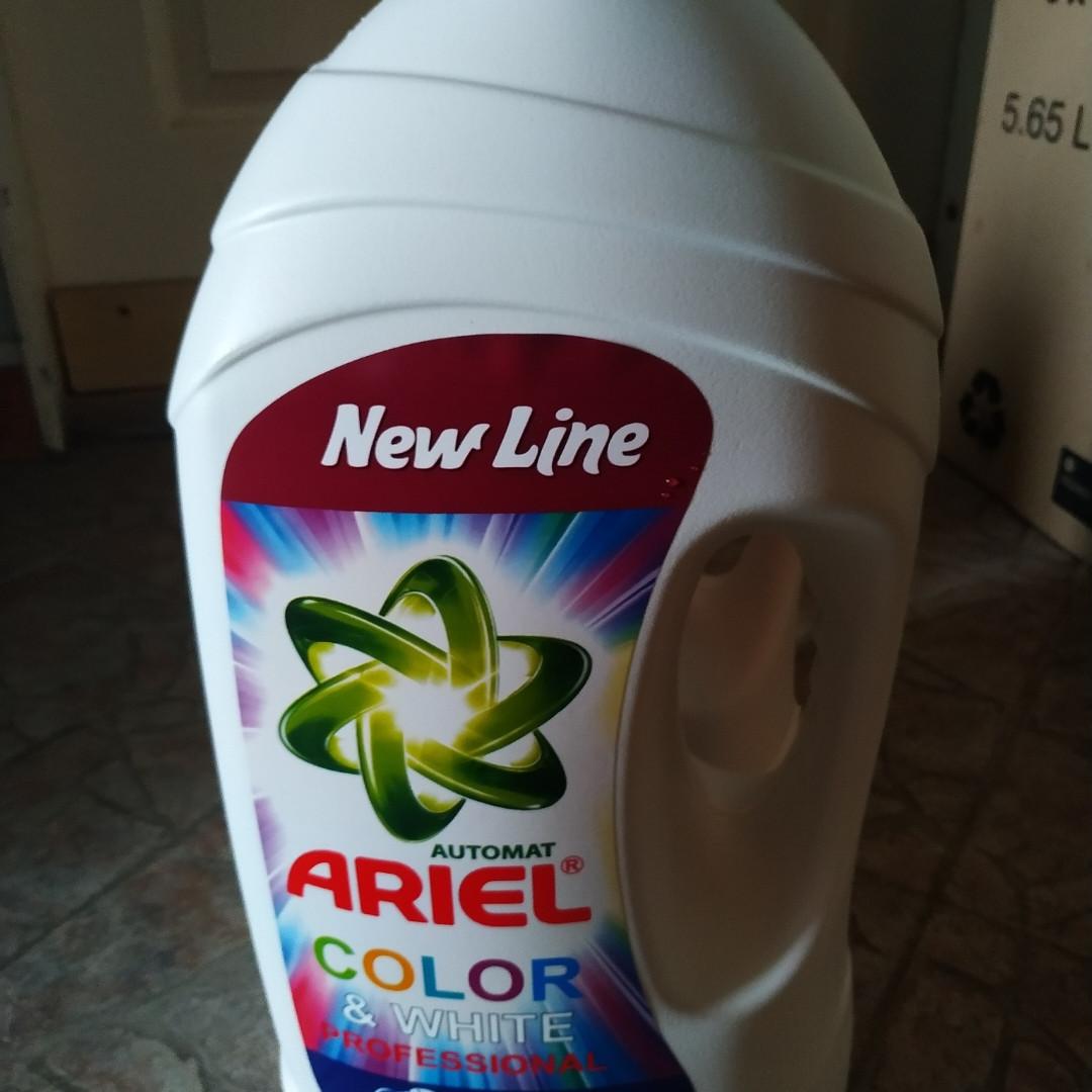 Гель для стирки Ariel 5.8л Professional color & whiteНет в наличии