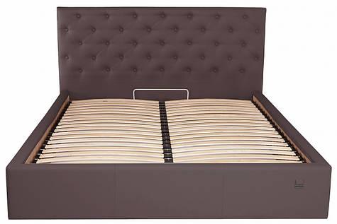 Кровать Двуспальная Coventry Standart 160 х 190 см Fly 2231 Темно-коричневая