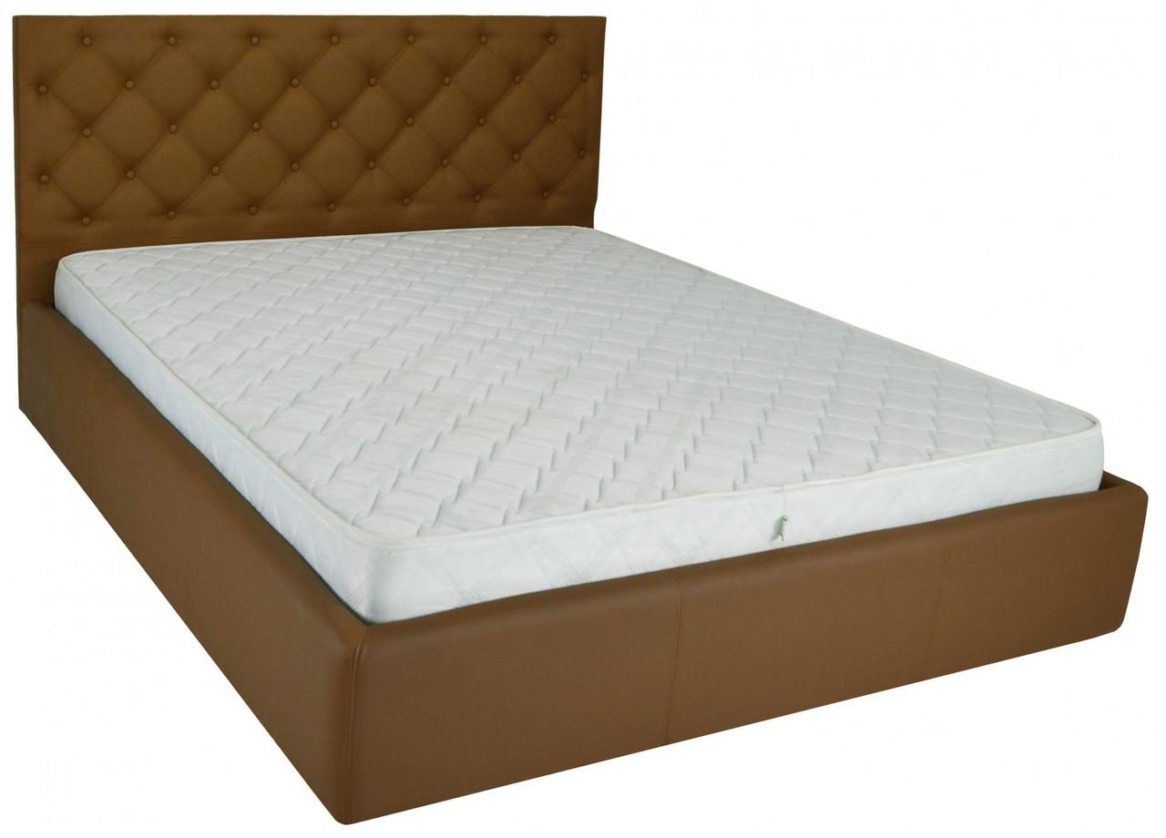 Кровать Двуспальная Richman Ковентри 160 х 200 см Флай 2213 A1 С подъемным механизмом и нишей для белья