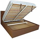Кровать Двуспальная Richman Ковентри 160 х 200 см Флай 2213 A1 С подъемным механизмом и нишей для белья, фото 4