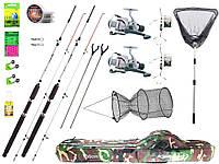 Спінінг класу Crocodile - 2.4 m. - х2/. Котушка класу Cobra 640 - x2.   №123