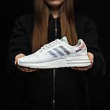 Стильні кросівки Adidas ZX 500 RM, White, фото 2