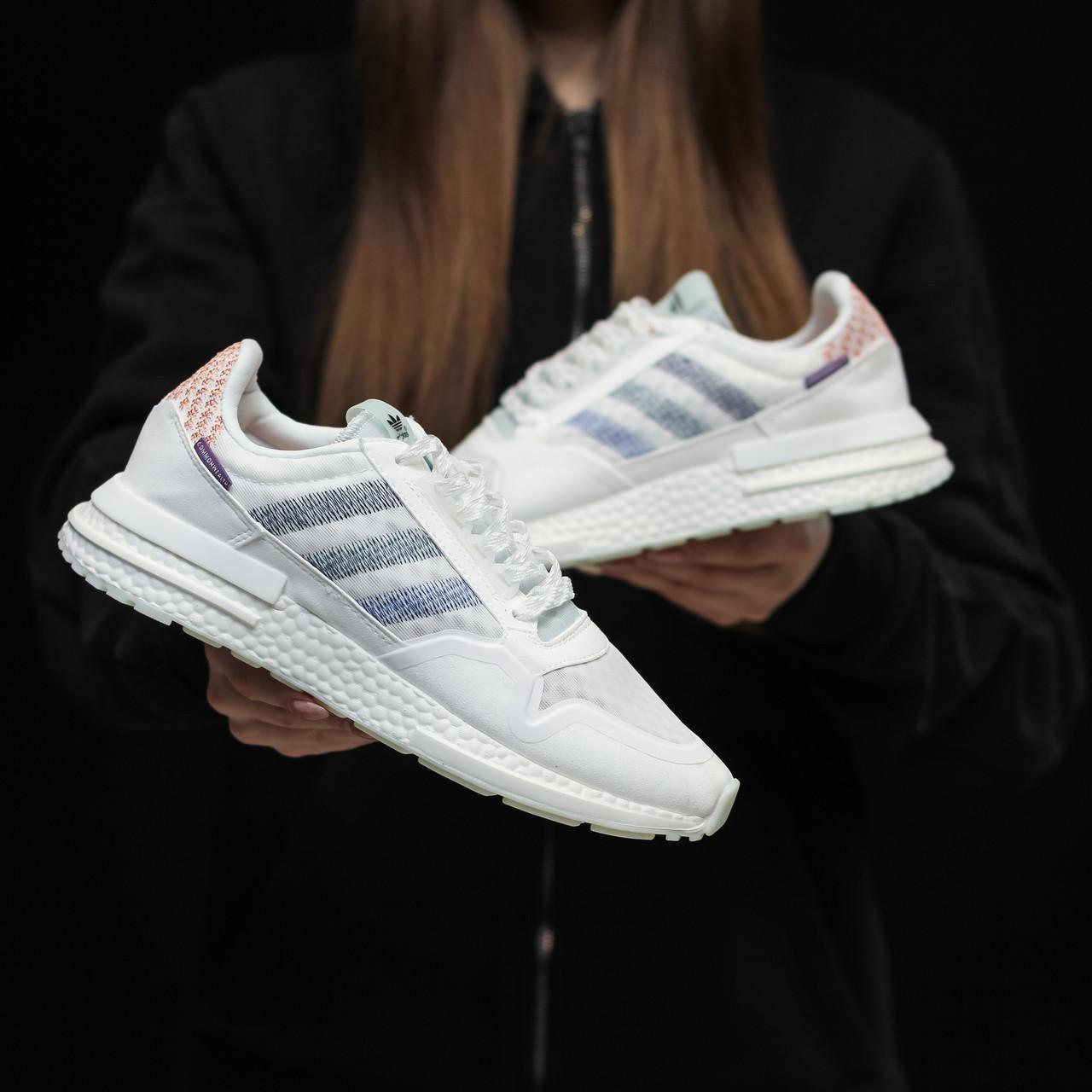 Стильні кросівки Adidas ZX 500 RM, White