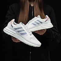 Стильные кроссовки Adidas ZX 500 RM, White