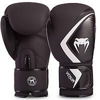 Перчатки боксерские кожаные на липучке VENUM CONTENDER 2.0 VENUM-03540 (р-р 10-16oz, цвета в ассортименте)