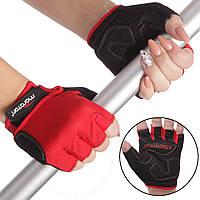 Перчатки для фитнеса женские MARATON 01-1290B (PL, PVC,открытые пальцы, р-р S-L), фото 1
