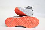 Стильні чоловічі світло-сірі кросівки літні, сітка.BAAS.44 розмір Чоловічі стильні світло-сірі кросівки., фото 5