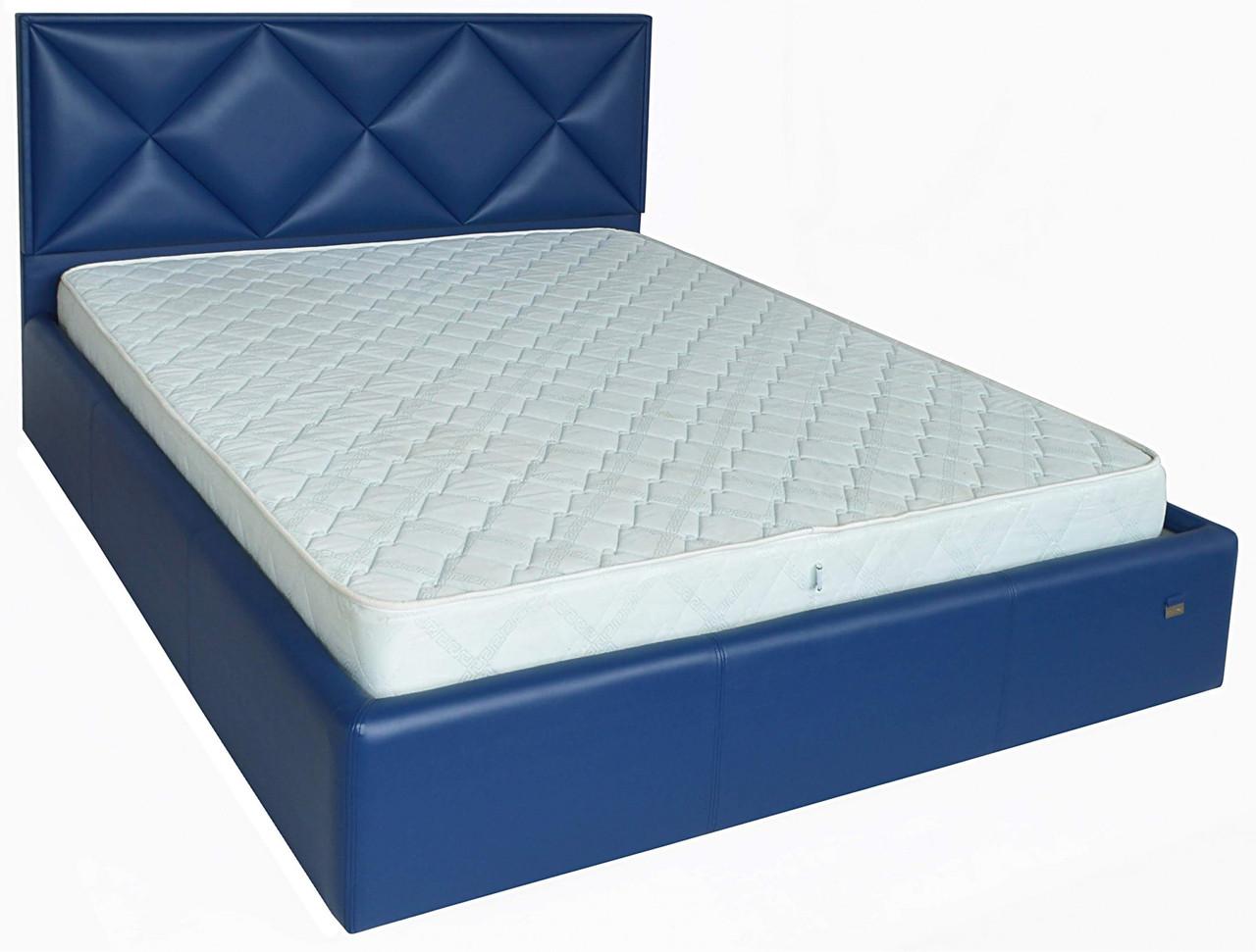 Кровать Двуспальная Richman Лидс 160 х 200 см Boom 21 Синяя
