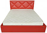 Кровать Двуспальная Richman Лидс 180 х 190 см Boom 16 С подъемным механизмом и нишей для белья Красная, фото 2