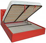 Кровать Двуспальная Richman Лидс 180 х 190 см Boom 16 С подъемным механизмом и нишей для белья Красная, фото 4