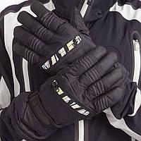 Перчатки горнолыжные теплые мужские A9191 (р-р M-L, L-XL, уп.-12пар, цена за 1пару, цвета в ассортименте)