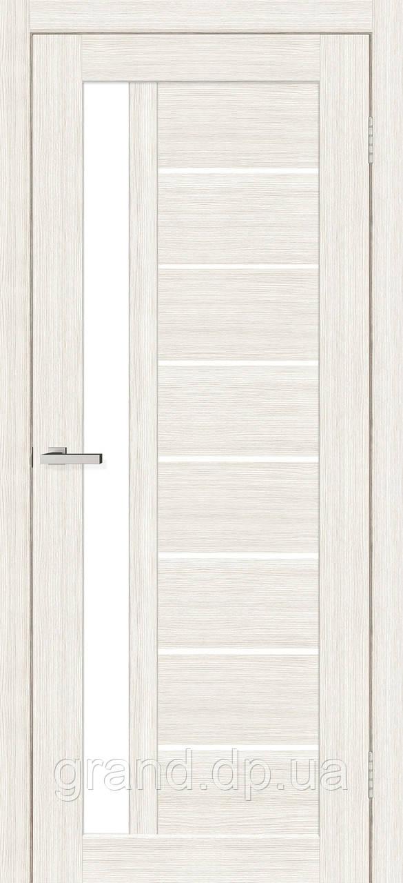 Двери  Омис Deco 09 Кортекс ( Cortex), дуб бьянко