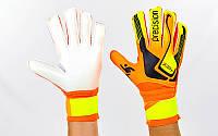 Перчатки вратарские юниорские FB-907 PRECISION (PVC, р-р 5-7, цвета в ассортименте)