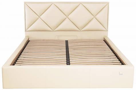 Кровать Двуспальная Leeds Standart 180 х 200 см Fly 2207 Бежевая