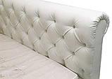 Кровать Richman Лондон 140 х 200 см Boom 01 С подъемным механизмом и нишей для белья Белая, фото 3