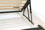 Кровать Richman Лондон 140 х 200 см Boom 01 С подъемным механизмом и нишей для белья Белая, фото 5
