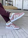 Стильні кросівки Adidas Gazelle Pink / Адідас газелі рожеві, фото 2