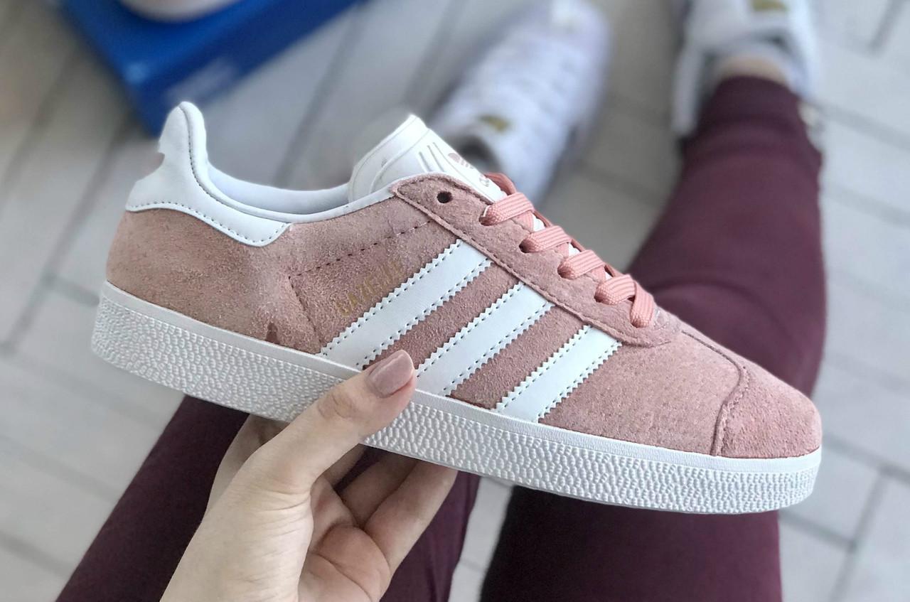 Стильні кросівки Adidas Gazelle Pink / Адідас газелі рожеві