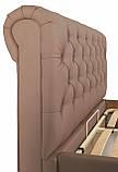 Кровать Richman Лондон 140 х 200 см Флай 2213 Светло-коричневая, фото 7
