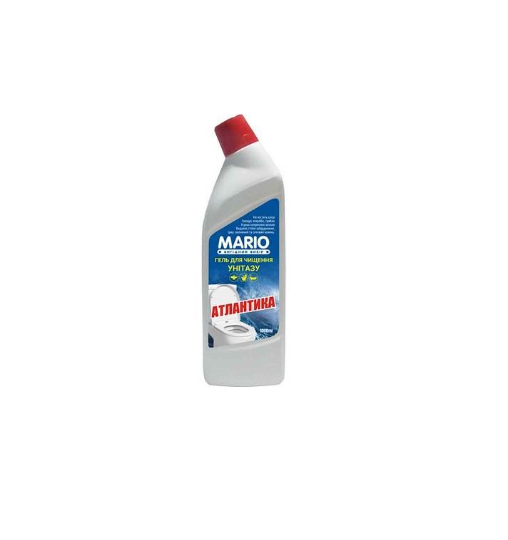 "Средство для мытья унитазов ""Марио"" 1л. Атлантика 12шт / уп"