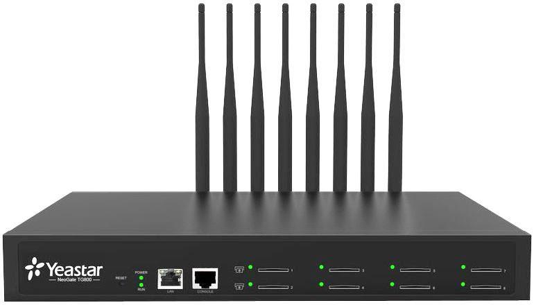 Восьмиканальный голосовой IP GSM шлюз Yeastar NeoGate TG800