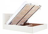 Кровать Richman Манчестер 140 х 200 см Флай 2200 С подъемным механизмом и нишей для белья Белая, фото 7