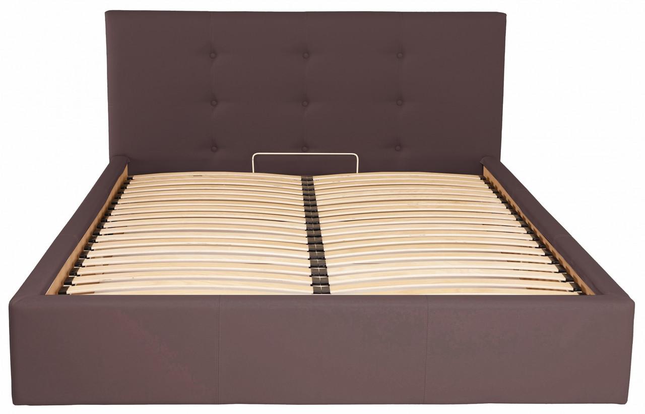 Кровать Richman Манчестер 140 х 200 см Флай 2231 Темно-коричневая