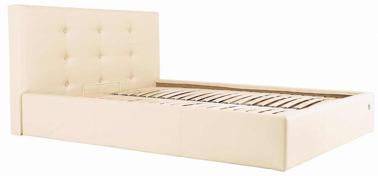 Кровать Двуспальная Richman Манчестер 160 х 200 см Флай 2207 Бежевая