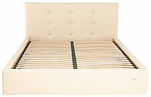 Кровать Двуспальная Manchester Comfort 160 х 200 см Флай 2207 С подъемным механизмом и нишей для белья Бежевая