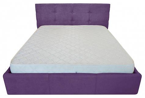 Кровать Двуспальная Manchester Standart 180 х 190 см Мисти Dark Violet Фиолетовая