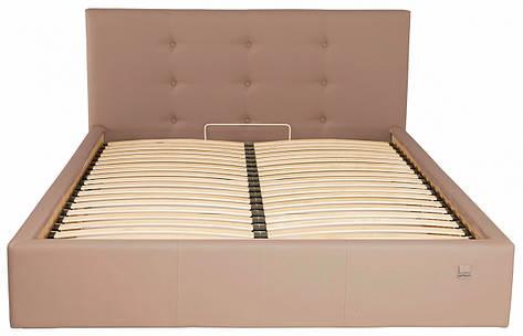 Кровать Двуспальная Manchester Standart 180 х 190 см Fly 2213 Светло-коричневая