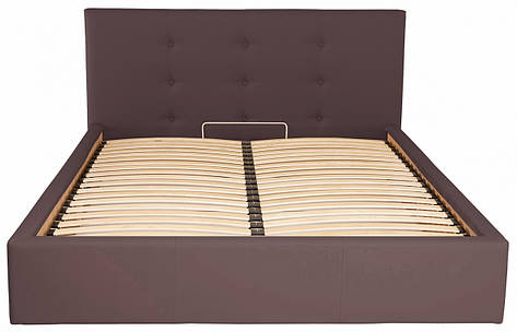 Кровать Двуспальная Manchester Standart 180 х 190 см Fly 2231 Темно-коричневая