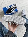 Стильні кросівки Adidas Gazelle Black / Адідас газелі чорні, фото 6