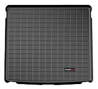 Коврик в багажник Bmw X1 (E84) 2009 - 2015 без системы регулировки положения заднего дивана и наклона спинки, черные, Tri-Extruded (WeatherTech,