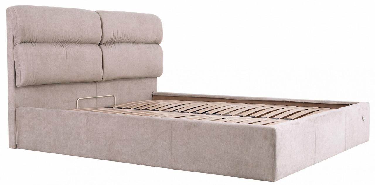 Ліжко Richman Оксфорд 140 х 190 см Місті Mocco Сіра