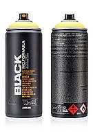 Краска Montana BLK TR1010 50% Насыщенный желтый (50% Tr. Yellow) 400 мл (352201)