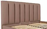 Кровать Richman Санам 120 х 190 см Флай 2213 Светло-коричневая, фото 6