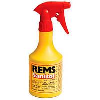 """Синтетичне мастило для нарізання різьби """"Санитоль"""" REMS розбризкувач 500 мл, фото 1"""