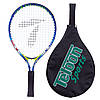 Ракетка для большого тенниса TELOON 2553-17 (алюминий, 17 дюймов, синий)