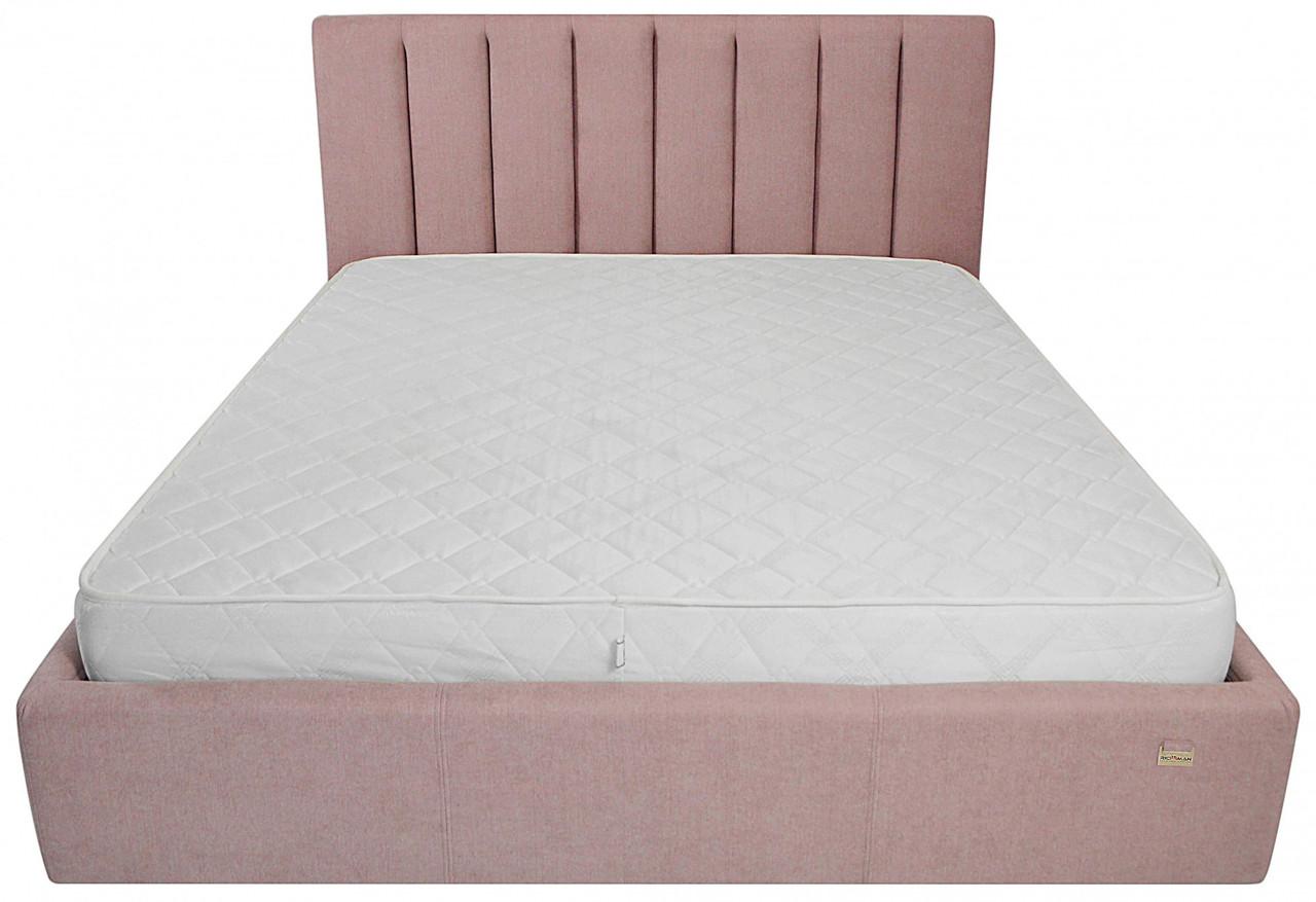 Кровать Двуспальная Richman Санам 160 х 190 см Missoni 021 Темно-розовая