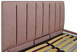 Кровать Двуспальная Richman Санам 160 х 190 см Missoni 021 Темно-розовая, фото 3