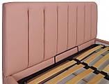 Кровать Двуспальная Richman Санам 160 х 200 см Флай 2202 Розовая, фото 4